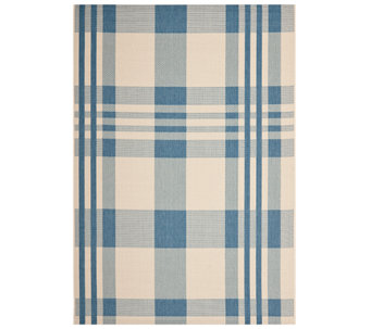 Safavieh 8' x 11' Plaid Indoor/Outdoor Rug - H283077