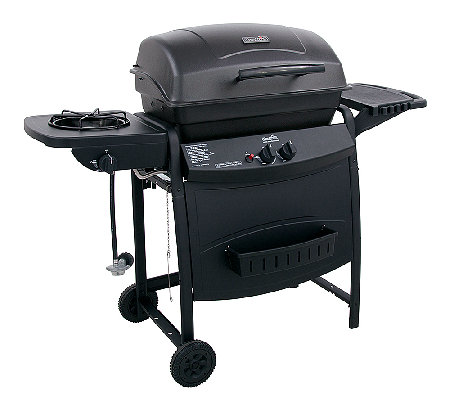 Char-Broil 35,000 BTU 2-Burner Gas Grill W/ Side Burner