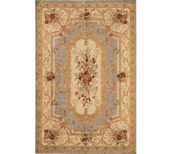 "Rugs America Sorrento Aubusson 7'10"" x 10'10"" Rug - H287577"