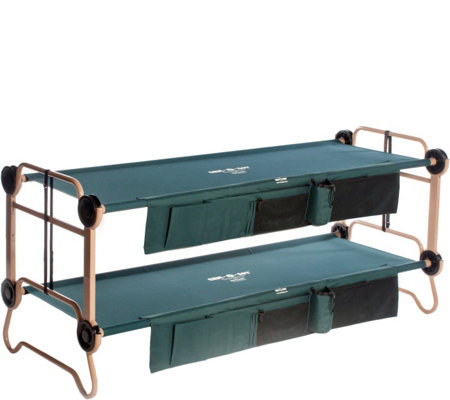 Disc-O-Bed Large Cam-O-Bunk with 2 Side Organizers