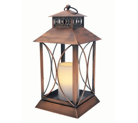 Home Reflections Indoor/Outdoor Flameless Candl e Lantern