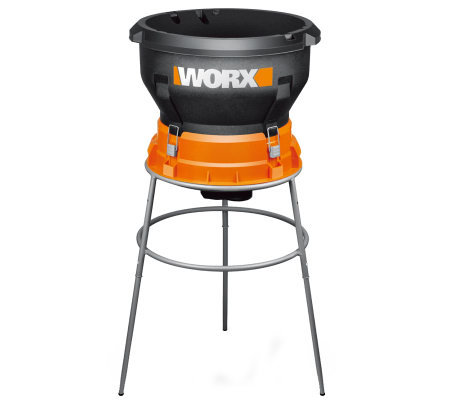 WORX Leaf Mulcher w/ 13.0-amp Motor and Stand