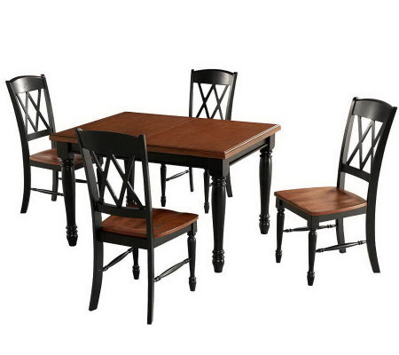Home Styles Monarch Dining Table and 4 Chairs