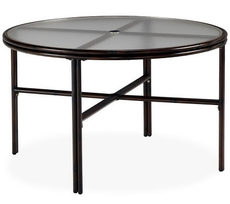 "Home Styles Outdoor Bimini Jim 42"" Round DiningTable"