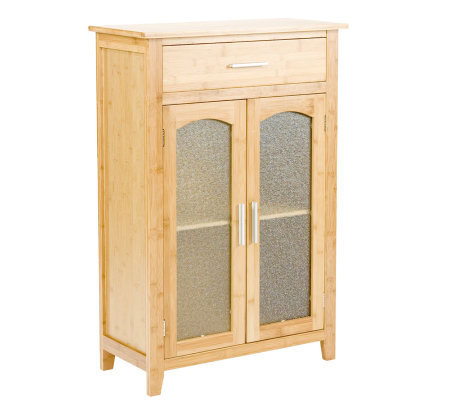 Http Www Qvc Com Panda Bamboo Bathroom Storage Cabinet Computers Electronics Product H155578 Html