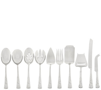 Lenox Nouveau 10 pc 18/10 Entertaining Serve Set - H208678