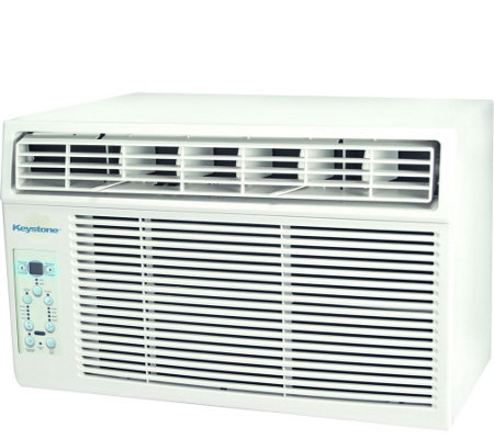 Keystone 12,000 BTU 115V Window-Mounted Air Conditioner
