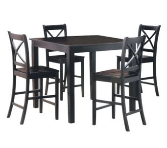 Martha 5 Piece Counter Height Dining Set by Acme Furniture - H356078
