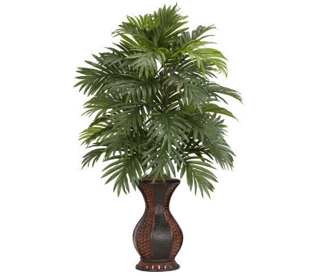 Areca Palm with Urn Plant by Nearly Natural