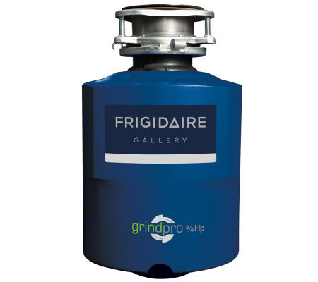 Frigidaire Gallery Series 3/4 Horsepower WasteDisposer