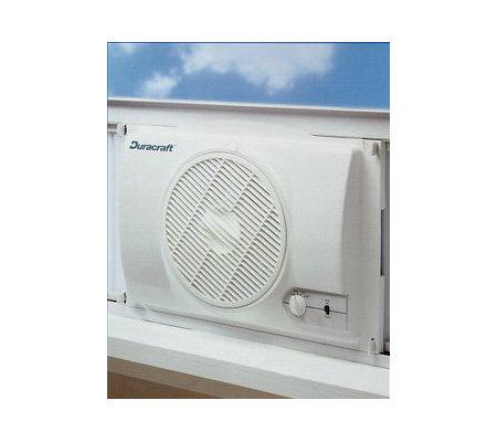 Duracraft Dw624 3 Speed Single Window Fan Qvc Com