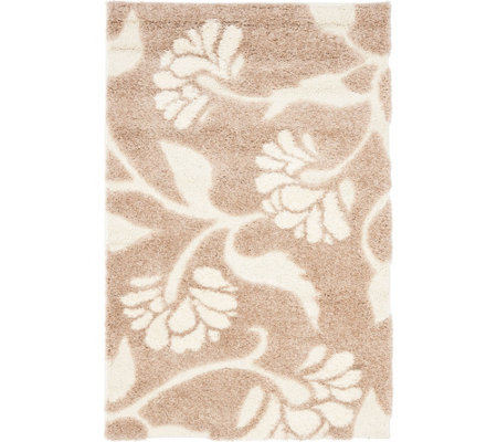 Safavieh 4'x6' Meadow Design Florida Shag Area Rug