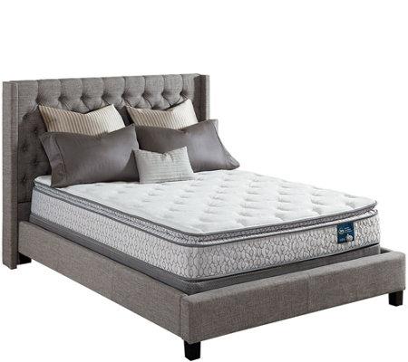 Serta Prize Pillowtop Cal King Mattress Set — QVC