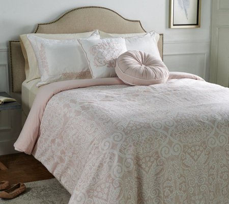Casa Zeta-Jones Signature Lace Twin Comforter Set