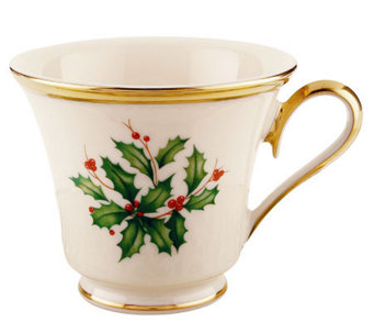 Lenox Holiday Teacup - H281779