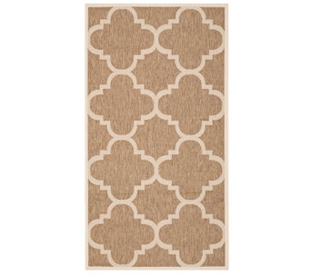 "Safavieh 4' x 5'7"" Moroccan Tile Indoor/OutdoorRug - H283079"