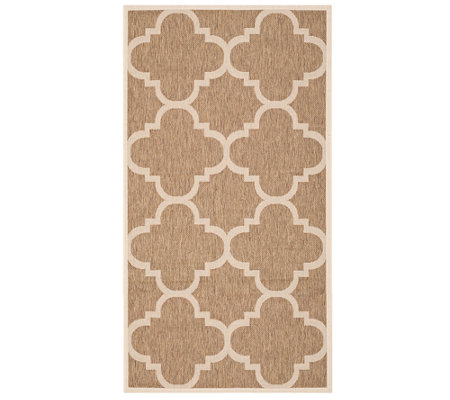 "Safavieh 4' x 5'7"" Moroccan Tile Indoor/OutdoorRug"