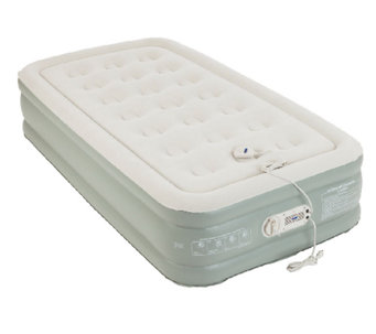 AeroBed Premier Raised Air Bed with Built-In Pump - Twin - H284079