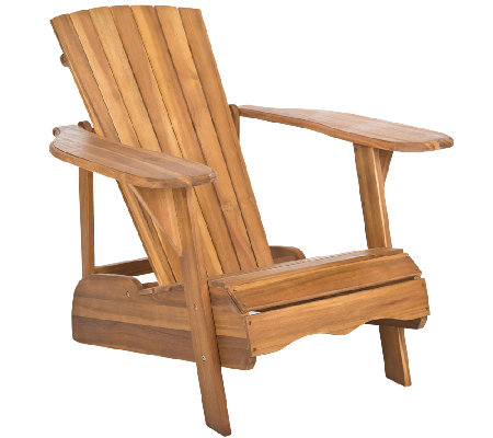 Safavieh Mopani Adirondack Wood Chair