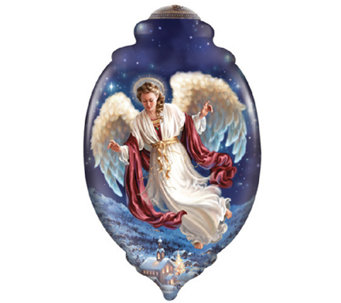 Peace on Earth Angel Ornament by Ne'Qwa - H286779