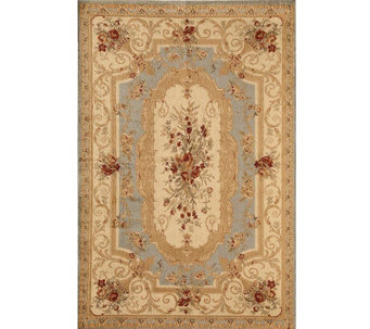 "Rugs America Sorrento Aubusson 6'7"" x 9'6"" Rug - H287579"