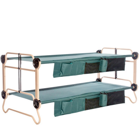 Disc-O-Bed XL Cam-O-Bunk with 2 Side Organizers