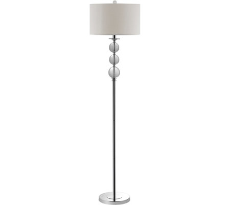 "Safavieh Pippa 61"" Glass Globe Floor Lamp"