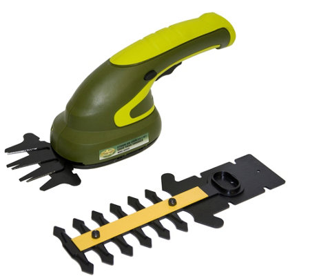 Sun Joe 3.6V Cordless 2-in-1 Grass Shear and Shrubber