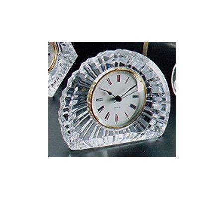 Durand Eventail Lead Crystal Clock — QVC.com