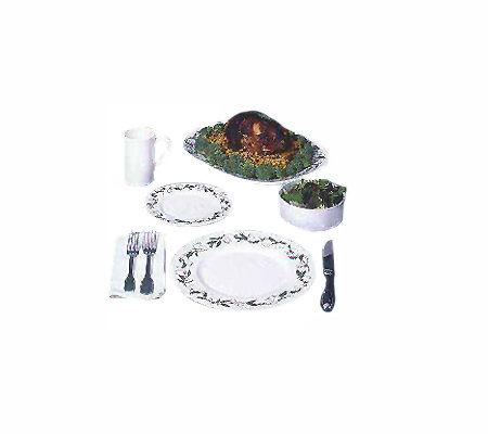 Gourmac Garland Dinnerware Collection 9-Piece Set