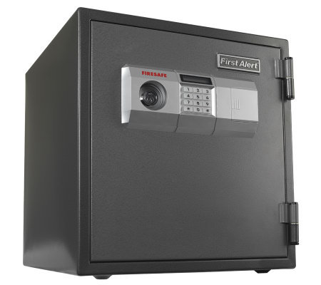 First Alert 1.2 Cubic Foot Digital Entry SteelFire Safe