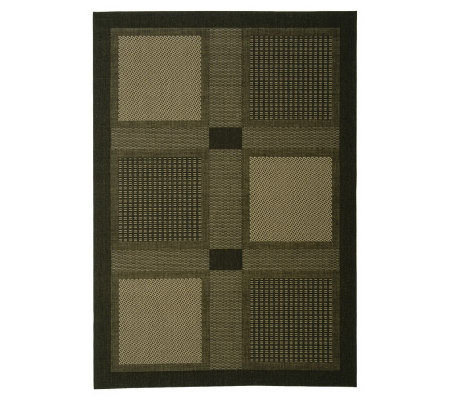 "Safavieh Courtyard Checkmate 5'3"" x 7'7"" Rug"