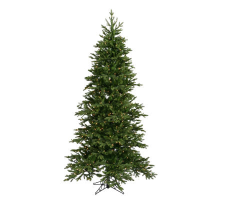 6-1/2' Prelit Balsam Fir PE Tree w/Clear Lightsby Vickerman