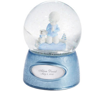 Things Remembered Praying Boy Water Globe - H186380