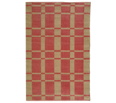 Thom Filicia 4' x 6' Chatham Recycled Plastic Outdoor Rug