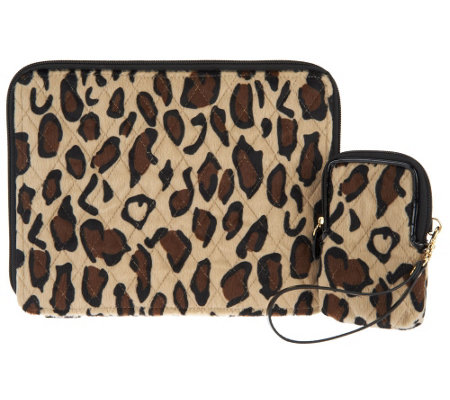 Dennis Basso Faux Fur Tablet and Cell Phone Case