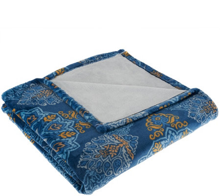 ED On Air Medallion Velvetloft Throw by Ellen DeGeneres