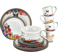 Lenox Melli Mello Porcelain 16pc Dinnerware Set