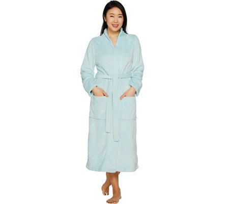 Velvet Soft Waffle Burnout Full Length Robe by Berkshire