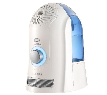 Homedics Cool Mist Ultrasonic Humidifier With Night Light