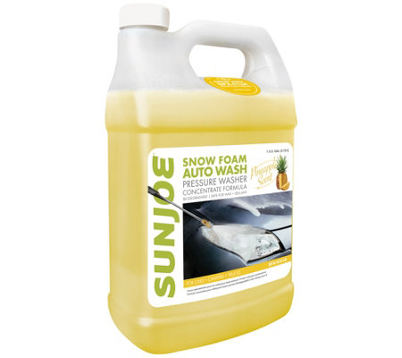 Sun Joe Pressure Washer Car Wash Cleaner - Pineapple Scent