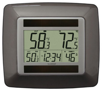 La Crosse Technology WS-8120 Solar Wireless Weather Station - H356380
