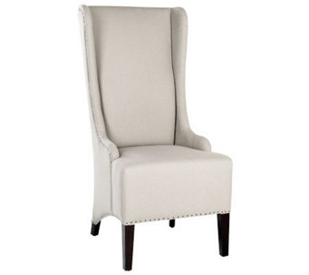 Safavieh Bacall Dining Chair with Carpenter Nailhead Trim - H365780