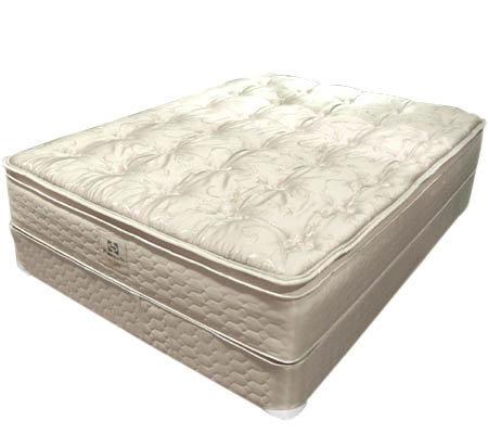 sealy regal pillowtop queen size mattress set