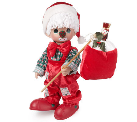 Precious Moments 12-inch Holiday Hobo Doll