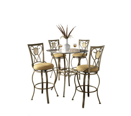 Hillsdale House Brookside 5-Piece Bistro Set