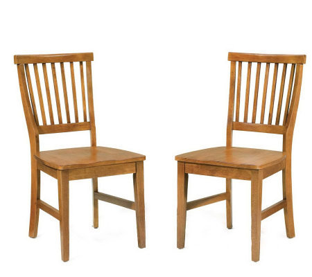 Home Styles Arts and Crafts Side Chair - 2 pack