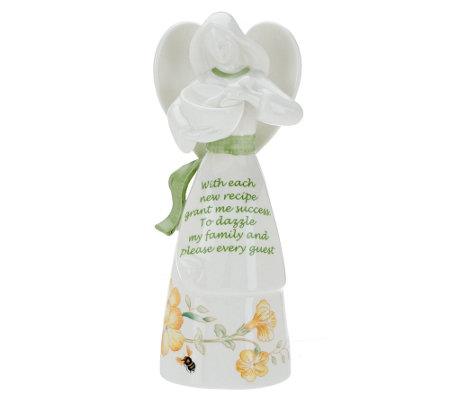 Lenox Butterfly Meadow Kitchen Angel Bell