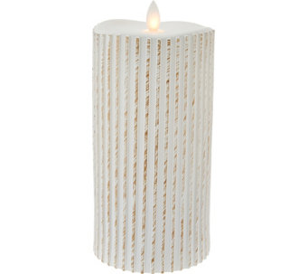 "7.5"" Patterned Mirage FlamelessCandle by Candle Impressions - H209381"