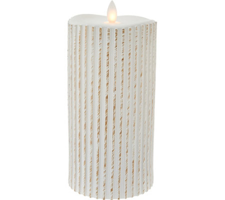 "7.5"" Patterned Mirage FlamelessCandle by Candle Impressions"